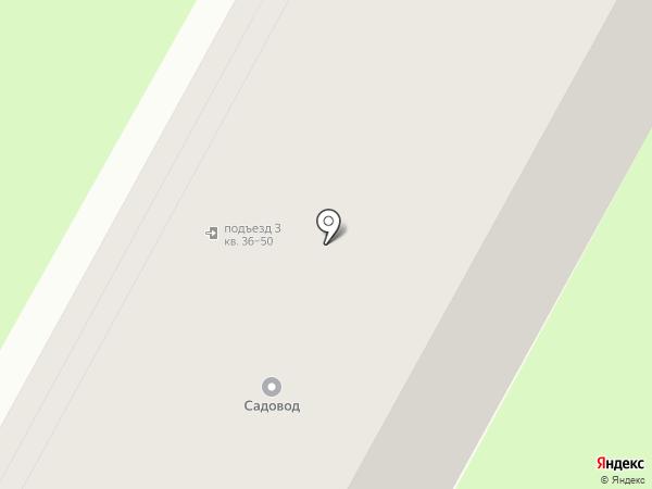 Садовод на карте Бердска