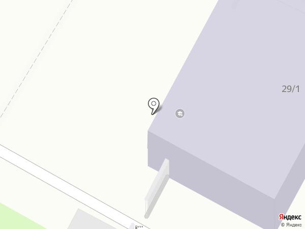 Перспектива на карте Бердска