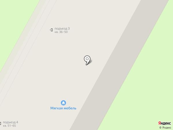 ЖСК на карте Бердска