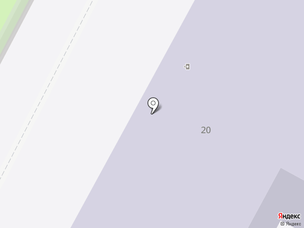 Средняя общеобразовательная школа №8 на карте Бердска