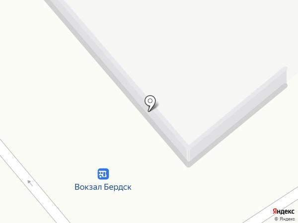 Подорожник на карте Бердска