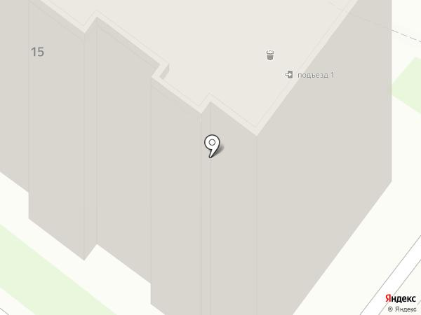 Стройпроект на карте Бердска