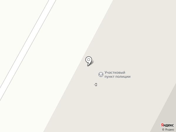 Участковый пункт полиции №3 на карте Бердска