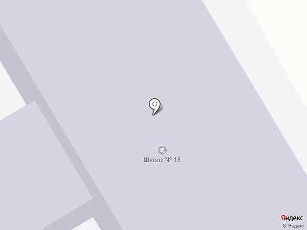 Средняя общеобразовательная школа №18 на карте Мочища