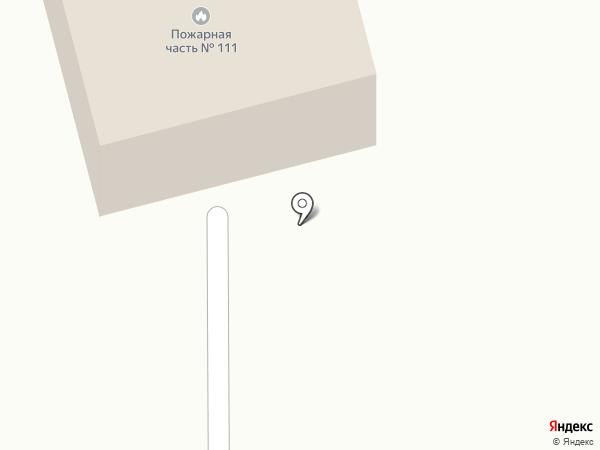 Пожарная часть №111 на карте Мочища