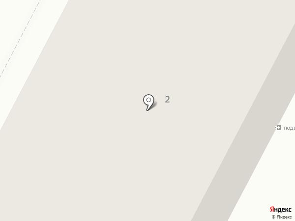 Светлый на карте Октябрьского