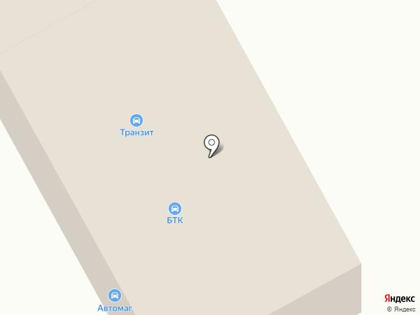 Транзит на карте Бердска