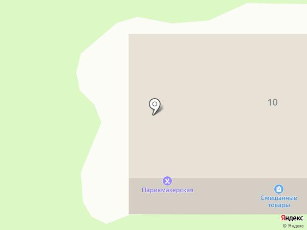 Парикмахерская на карте Октябрьского