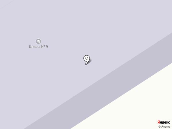 Средняя общеобразовательная школа №9 на карте Барышево