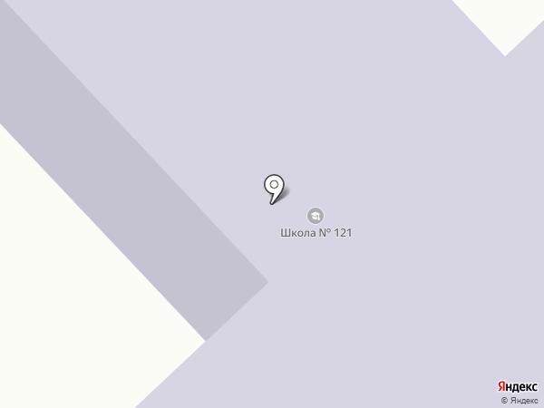 Железнодорожная средняя общеобразовательная школа №121 на карте Железнодорожного