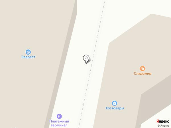 Эверест на карте Искитима