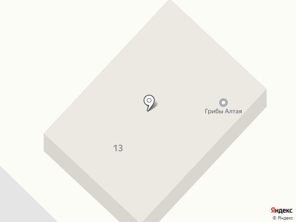 Магазин по продаже грибов на карте Железнодорожного