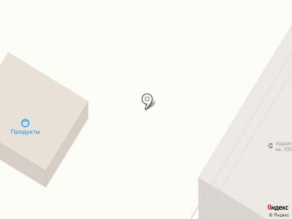 Южный на карте Искитима