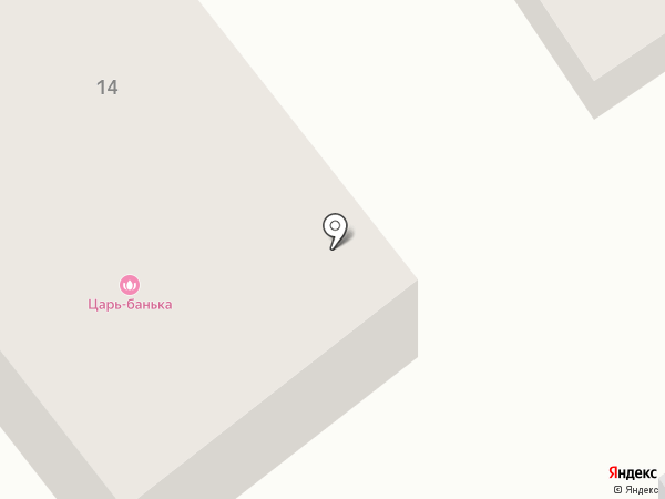 Царь-банька на карте Искитима