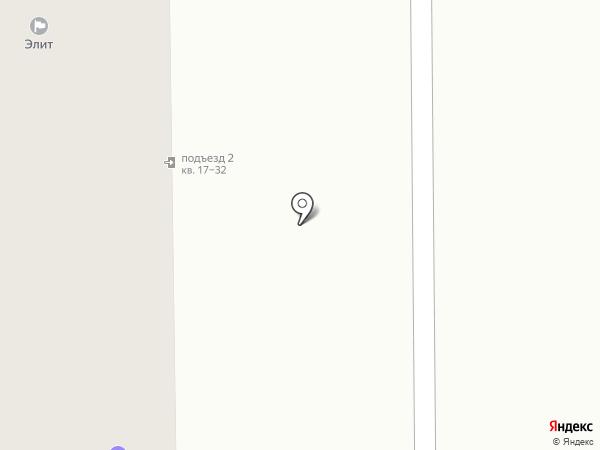 Элит на карте Искитима