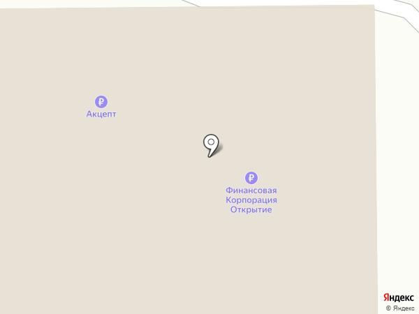 Лента на карте Искитима