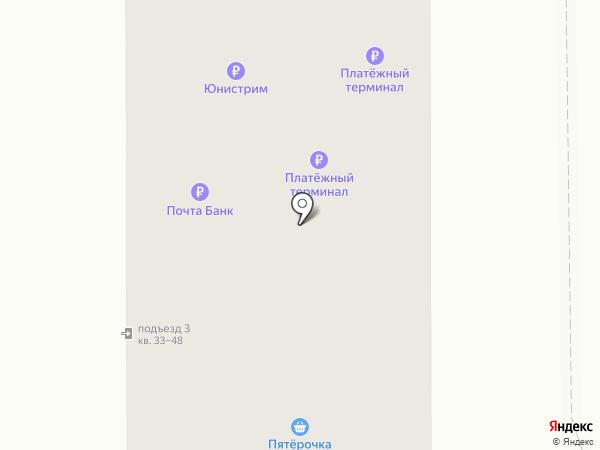 Подгорный на карте Искитима