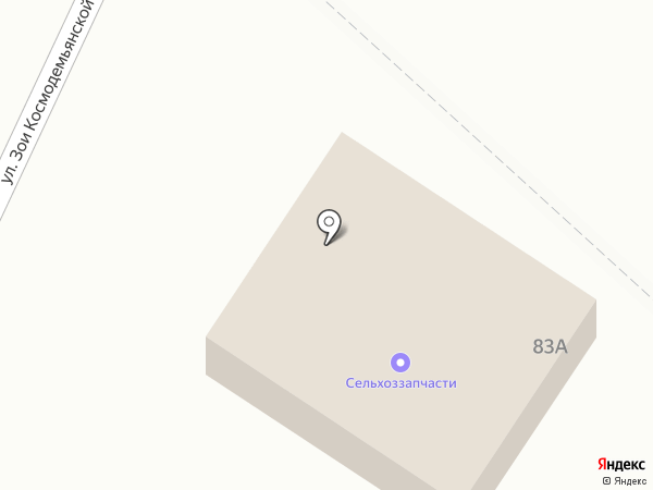 Магазин сельхоззапчастей на карте Искитима
