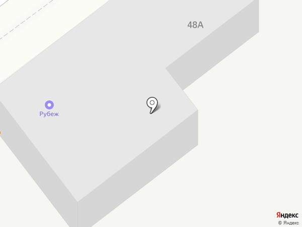 Рубеж на карте Искитима