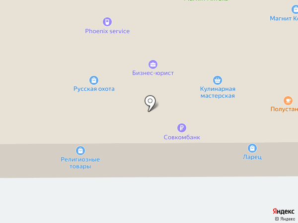 Торгово-монтажная компания на карте Искитима