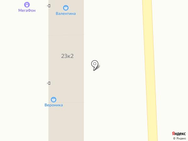 Попутка на карте Искитима