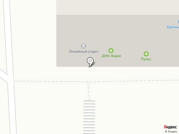 Линейное отделение полиции на ст. Искитим на карте Искитима