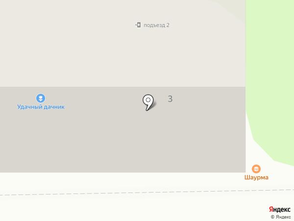 Бис на карте Искитима