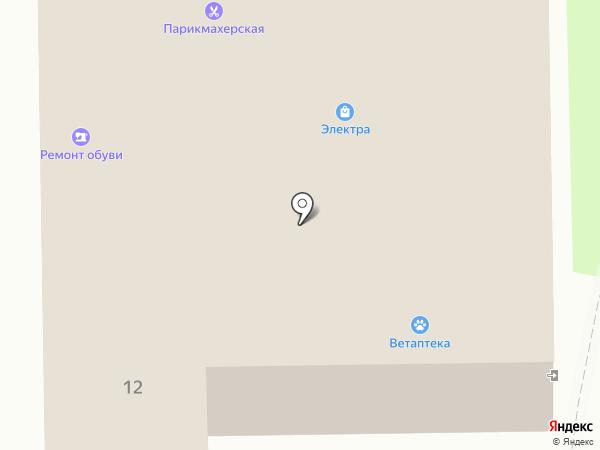 Электра на карте Искитима
