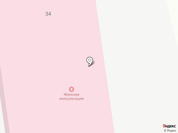 Женская консультация на карте Искитима