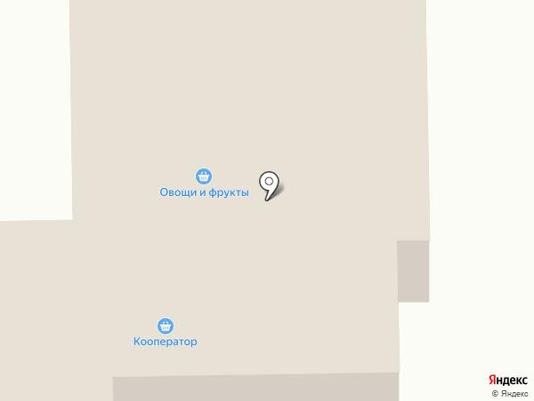 Кооператор на карте Искитима