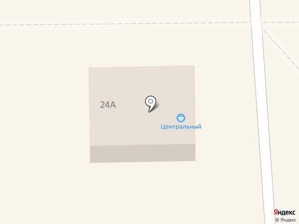 Центральный на карте Искитима