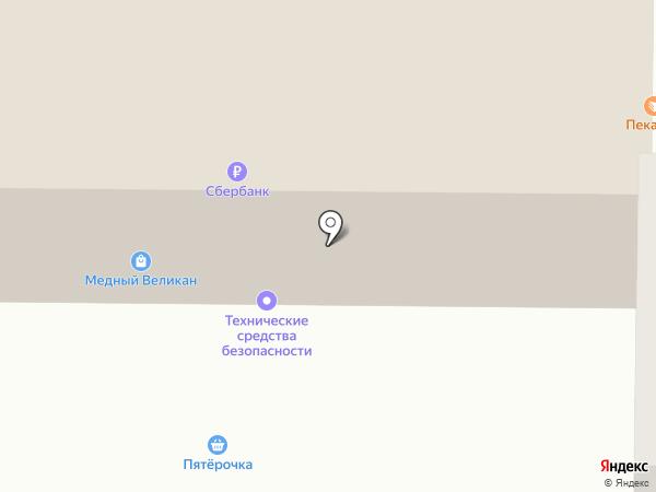 Новоселье на карте Искитима