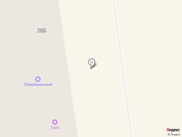 Банкомат, Банк Левобережный, ПАО на карте Искитима