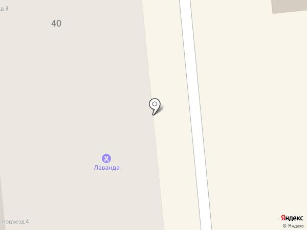 Магазин тканей на карте Искитима