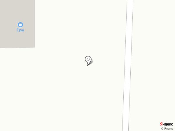 Ёрш на карте Искитима