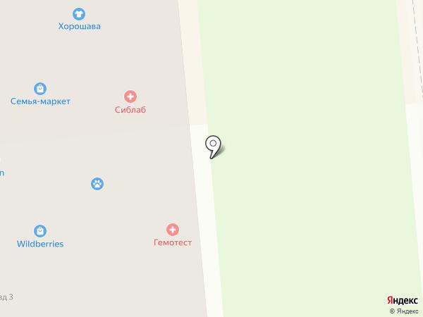 Искитим ТВ на карте Искитима