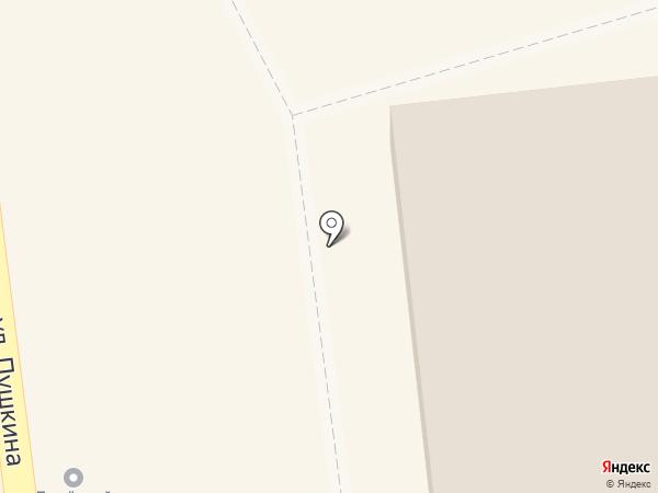Магазин канцелярских товаров на карте Искитима