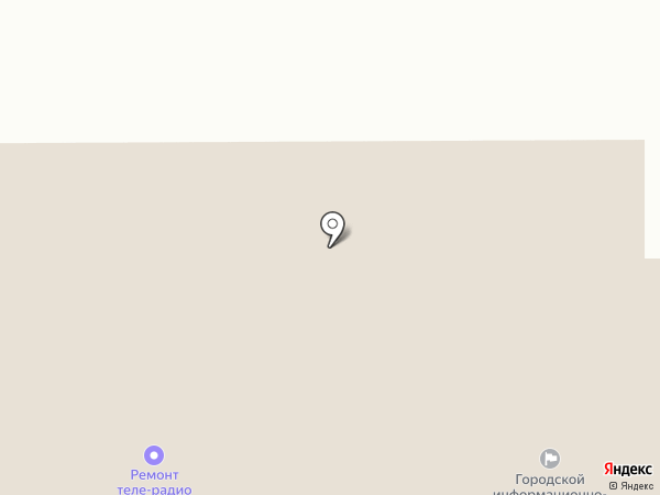 Телеателье на карте Искитима