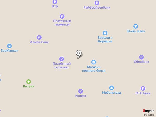 Авантаж на карте Искитима