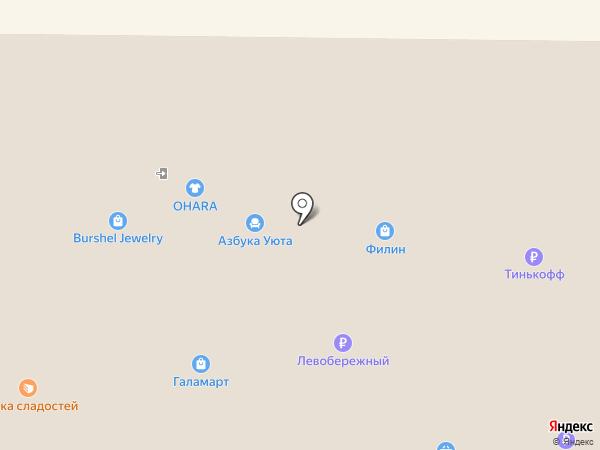 Магазин нижнего белья на карте Искитима
