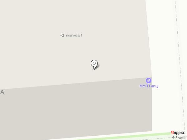 Городской информационно-технический центр, МУП на карте Искитима