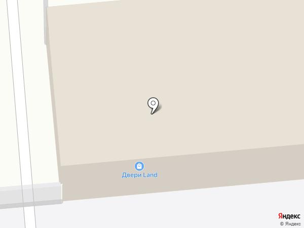 Двери Land на карте Искитима