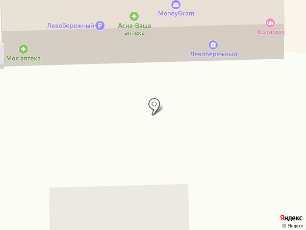 Центральное на карте Искитима