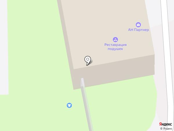 Фемида на карте Искитима