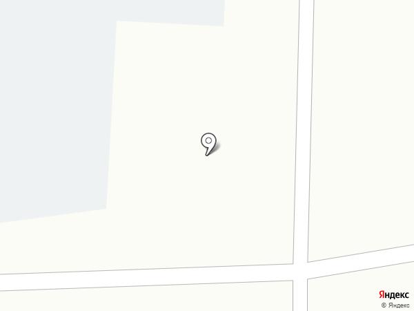 Киоск фастфудной продукции на карте Искитима