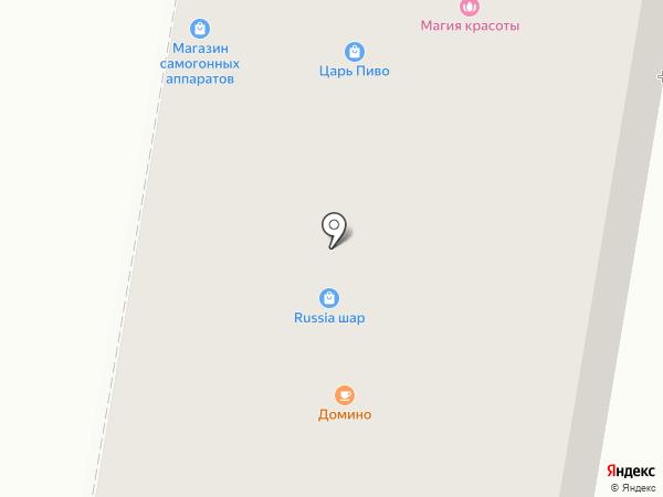 Сибирские сети на карте Искитима