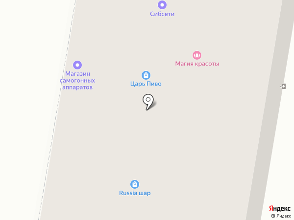 Магазин кондитерских изделий на карте Искитима
