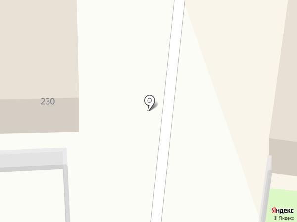 Лайнер на карте Искитима