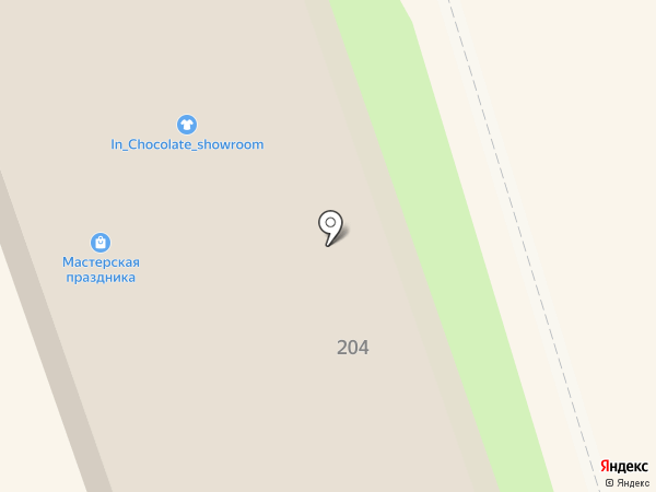 Город Мастеров, ООО, производственная компания входных дверей на карте Искитима
