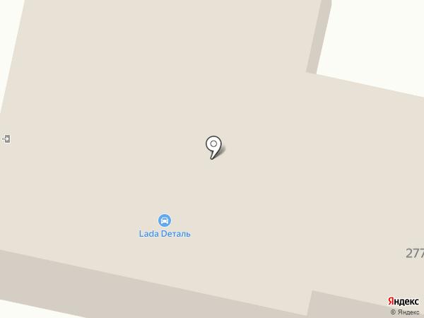 Магистраль на карте Искитима